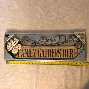 Other - HOME DECOR SIGN WALL ART NEW DOOR